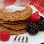 Oat & Almond Crunch Gluten-Free Pancakes