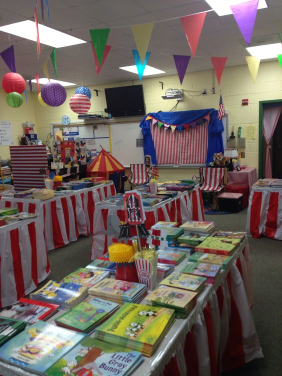 Classroom Birthday Party ~ Circus theme classroom and on