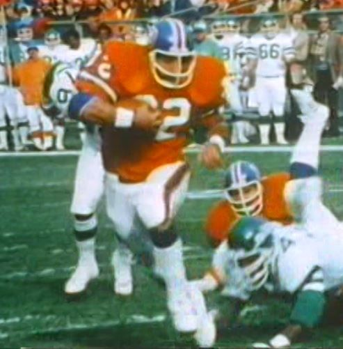 Running back JON KEYWORTH runs for daylight in a 1978 game against the New York Jets!!