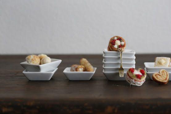 羊毛フェルトღすっごく可愛いケーキ&パン作品集