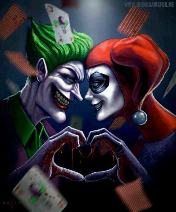 Harley Quinn And The Joker The Joker And Harley Quinn border=