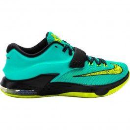 Nike 653996-370 KD 7 Uprising Mens Basketball Shoes (Hyper Jade/Black-