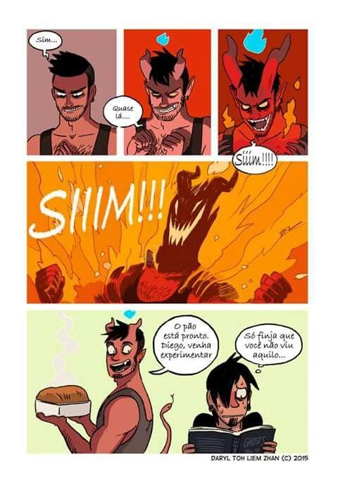 Tobias e Guy: o pão que o diabo assou