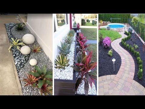 70 Magical Side Yard And Backyard Gravel Garden Design Ideas Youtube Gravel Garden Garden Design Garden Crafts Diy
