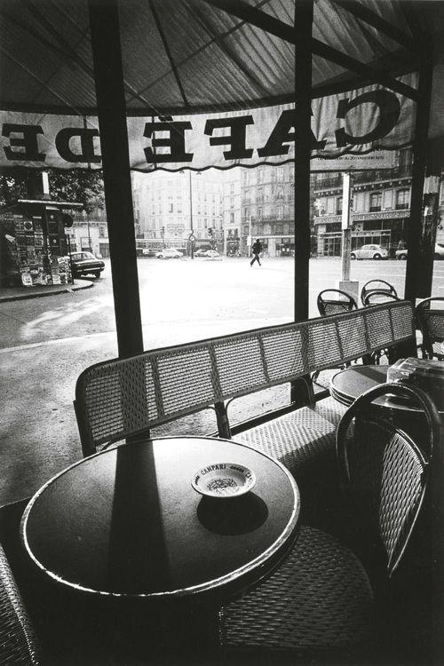 Photographer Profile Jeanloup Sieff Cafe De Flore Jean Loup