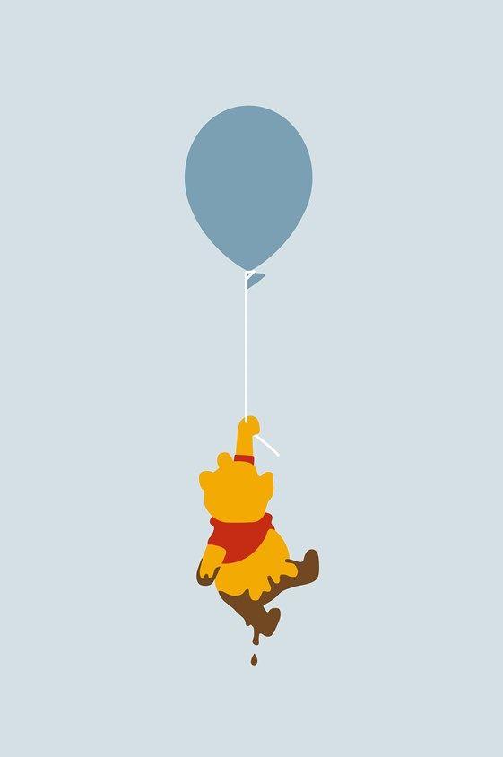 Winnie The Pooh Balloon Cute Winnie The Pooh Wallpaper