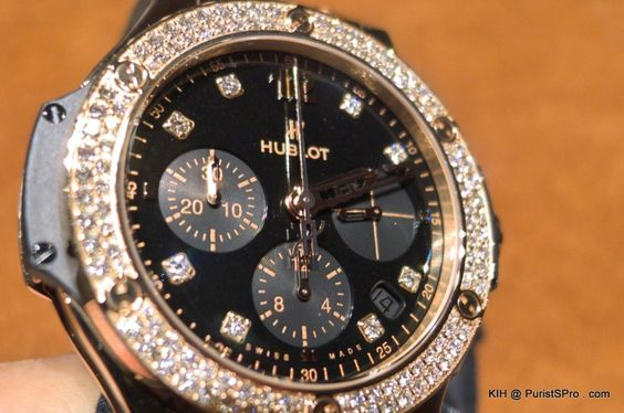 Hublot - Boutique Visit - Hublot Gold Shiny