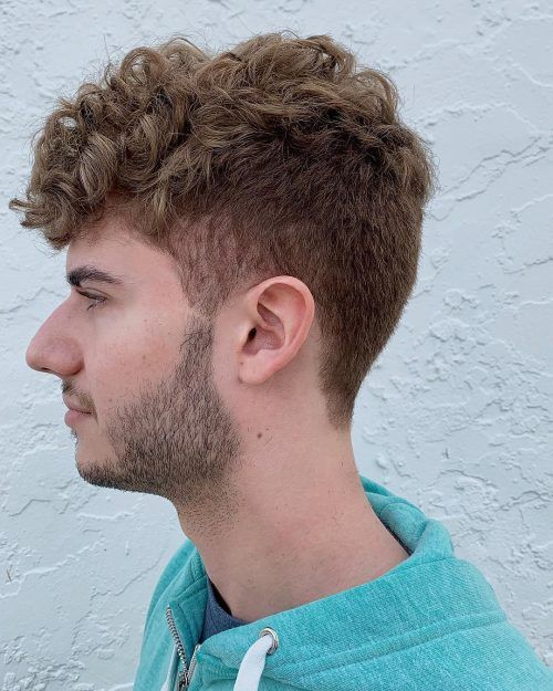 22 Awesome Examples Of Short Sides Long Top Haircuts For Men Curly Hair Men Men S Curly Hairstyles Mens Short Curly Hairstyles