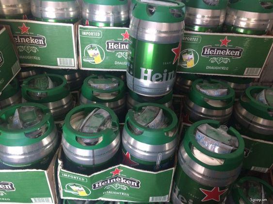 thùng bia heineken 5 lít