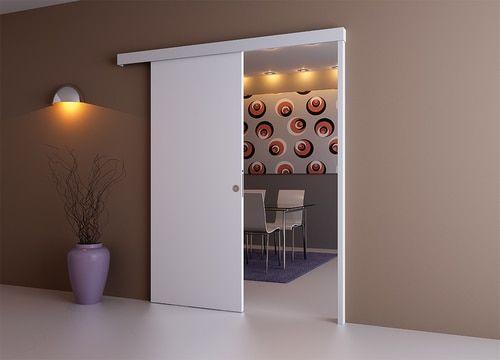Wall Mounted Sliding Door Kit Pelmet And Door Post 2m Track Paris 3 Sliding Doors Sliding Door Systems Interior Railings