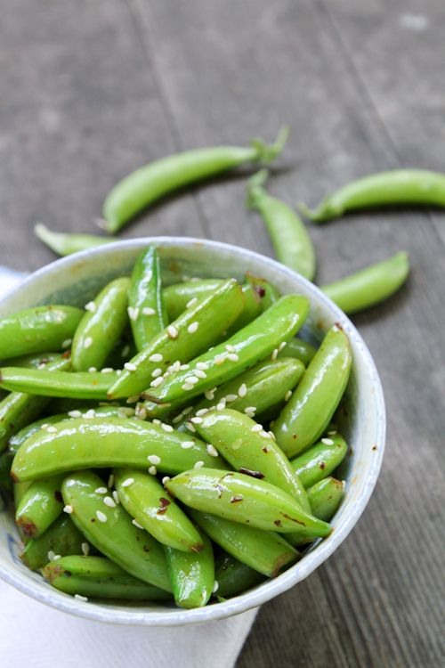 Sugar snap peas, Snap peas and Spicy on Pinterest