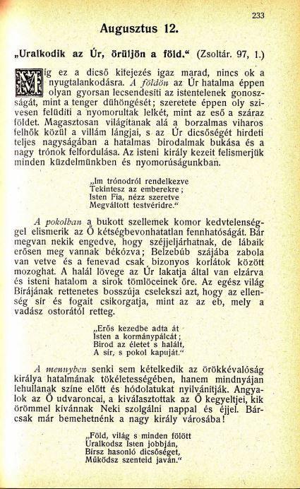 08.12 Spurgeon: Harmatgyöngyök...