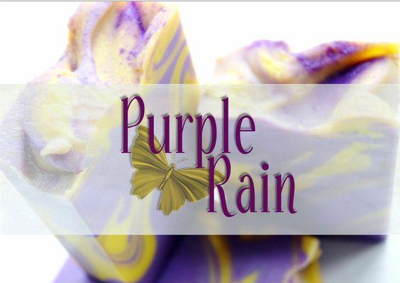 Making & Cutting Purple Rain Cold Process Soap ~ Petals Bath Boutique