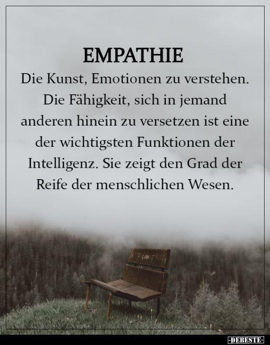 Zitate empathie Die besten
