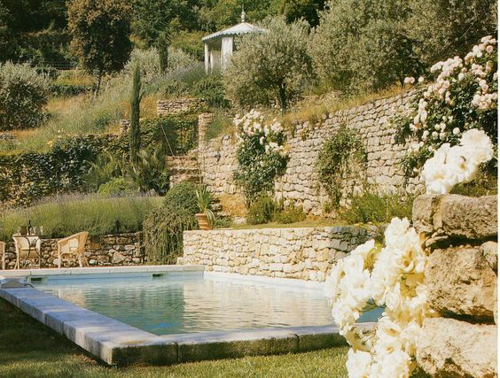 Pinterest the world s catalog of ideas - Pool house provencal ...