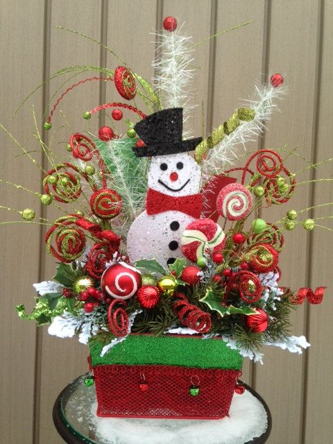 Quot it s snowtime festive christmas holiday snowman