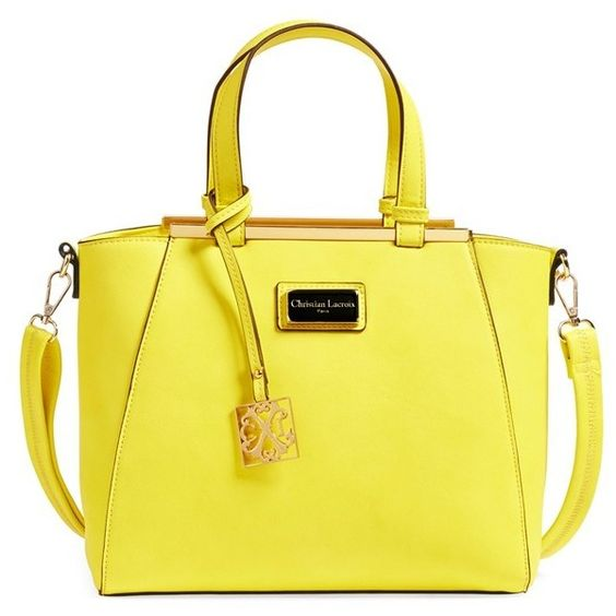 Yellow Satchel Bag