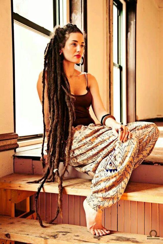 Awe Inspiring Long Dreadlock Styles For Women Dreadlocks Hairstyles For Women Short Hairstyles Gunalazisus