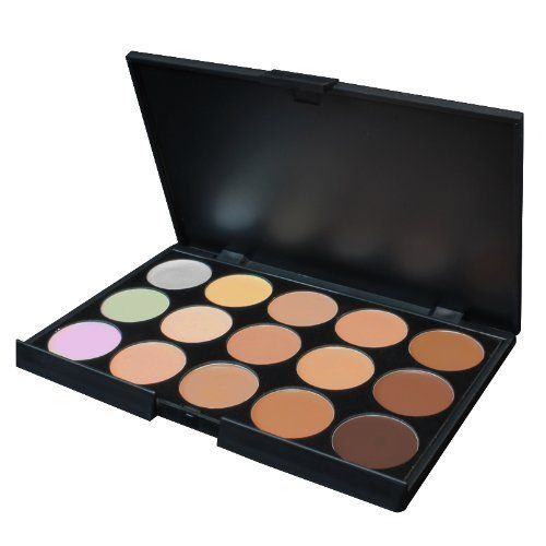 Coastal Scents Eclipse Concealer Palette by Coastal Scents. $14.95. Perfect for Makeup Artists. 15 Concealer Shades. Great for a quick cover up. Finally! A perfect concealer palette that not only showcases 12 made to match shades, but also hosts 3 fantastic corrector concealers. This palette is designed for travel, but don't let it's size fool you. These 15 pans will give you a multitude of applications.