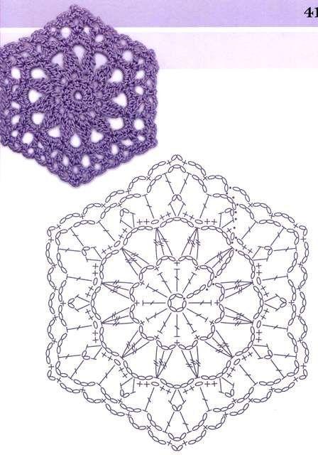 Crochet Muster Pinterest Charts Crochet Granny