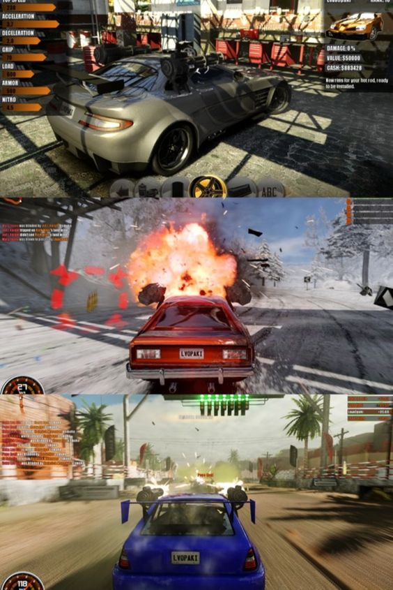 Gas Guzzlers Combat Carnage Screenshots