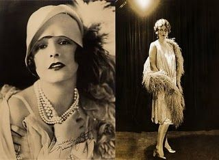 This has a great close up of a flapper.
