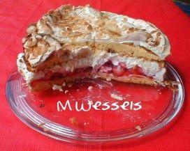 Wessels Küchenwelt: Erdbeerbaiser-Torte