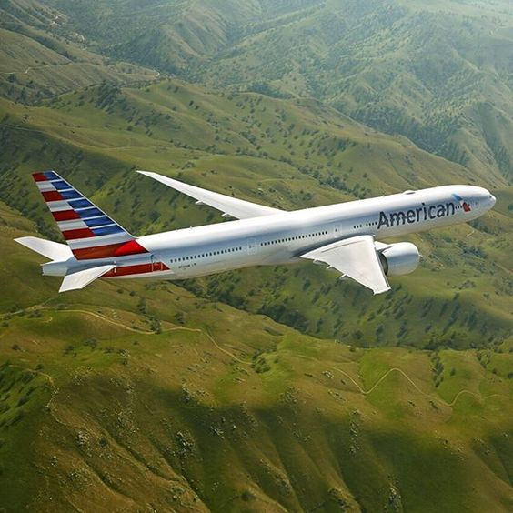 American Airlines Boeing 777-323/ER in a promotional image for the carrier. (Photo: American Airlines)