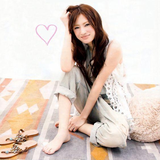 可愛らしい笑顔の北川景子