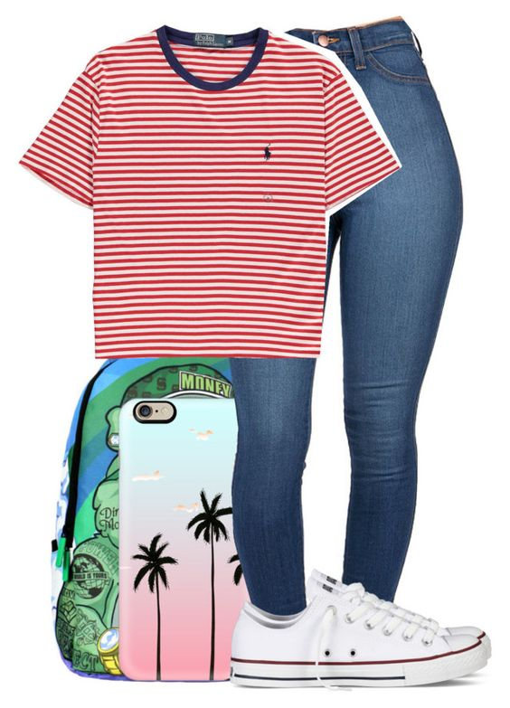 """""""!"""" by dimpleface-tyler ❤ liked on Polyvore featuring Casetify, Polo Ralph Lauren and Converse"""