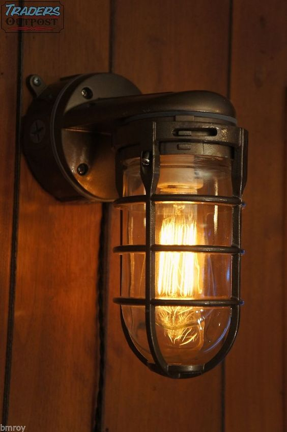 Bronze Bedroom Wall Sconces : Vintage Industrial Explosion Proof Wall Lamp Sconce Steampunk Light - Bronze Vintage ...