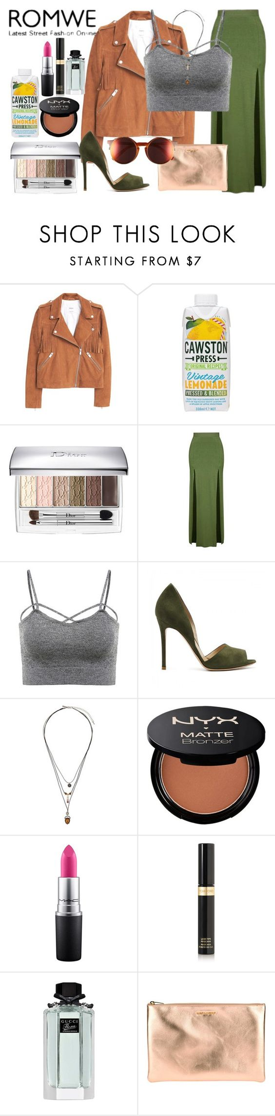 """""""Home."""" by carla-limitededition ❤ liked on Polyvore featuring MANGO, Christian Dior, Topshop, NYX, MAC Cosmetics, Tom Ford, Gucci, Yves Saint Laurent, Sunday Somewhere and romwe"""