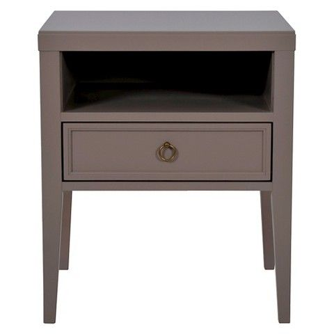 Threshold™ Accent Table - Grey: