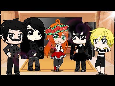 Addams Family React To Afton Family Memes Ft Elizabeth Afton Gacha Club Original Youtube Afton Anime Anime Background