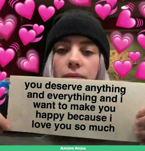 Pin By Maria Jose On Wholesome Billie Eilish Billie Cute Love Memes