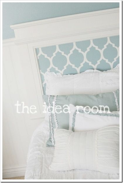 bed with headboard for girls