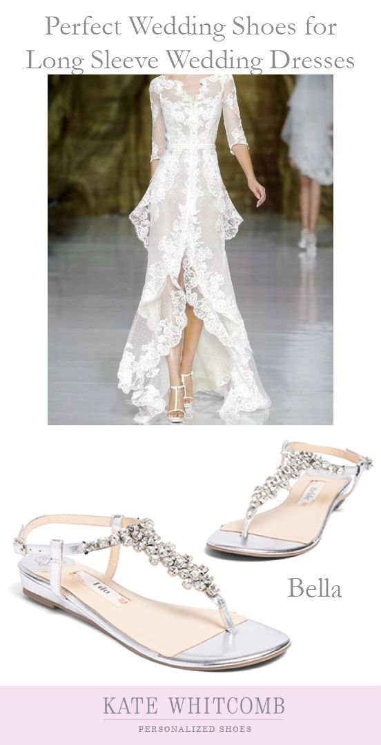 Gorgeous Silver Wedding Sandals For The Bride Wedding Shoes