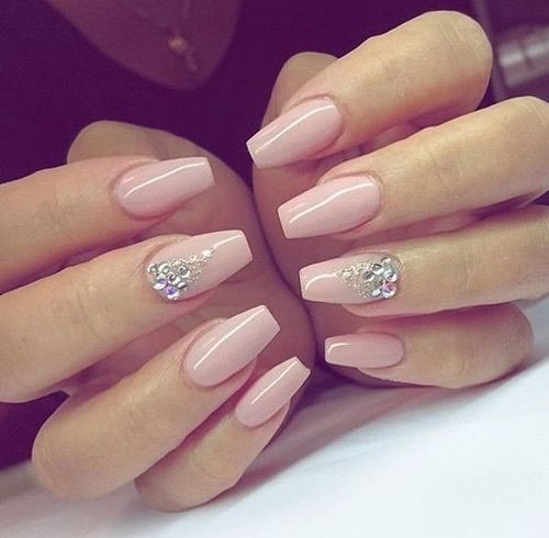 Imagem de nails, pink, and style