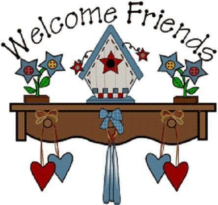 welcome friends clip art country clipart pinterest country rh pinterest com country clip art candle labels country clip art images