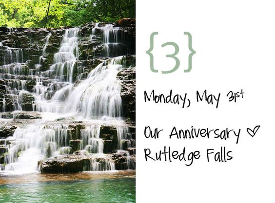 Ignore the date. I want to go to Rutledge Falls, TN!!!