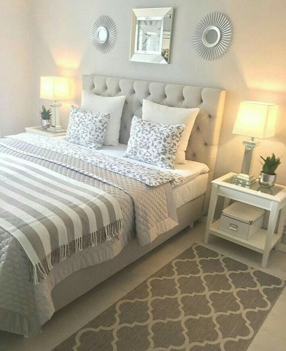 32 Beautiful Bedroom Decor Ideas For Compact Departments Small Bedroom Decorating Ideas On Beautiful Bedroom Decor Master Bedrooms Decor Small Master Bedroom