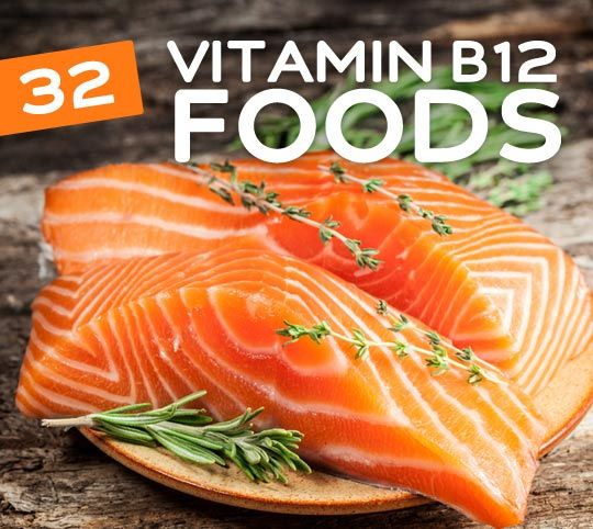 32 Foods High in Vitamin B12 to Keep You Energized | Meat ...