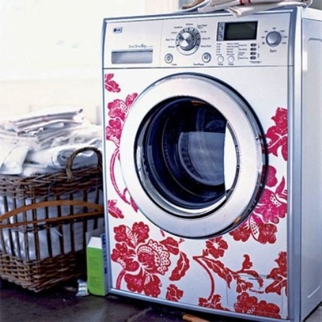 How'd they do this?  great idea for laundry room makeover