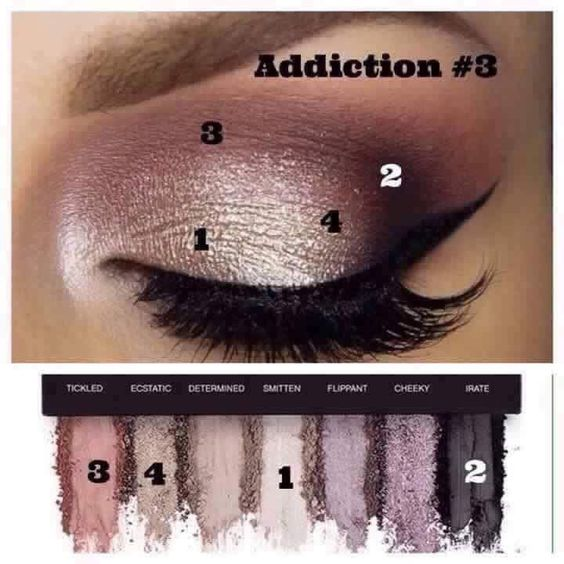 Recreate this gorgeous look with Addiction Palette number 3 with seven vibrant, rich, pigmented, long lasting, crease proof & eye popping colors http://www.youniqueproducts.com/marialloyd #palette #makeup #younique