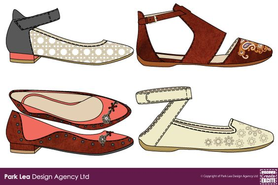 Ladies Womens Flats for SS 15