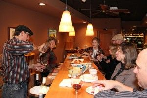 Wind Rose Cellars Tasting Room & Wine Bar has live music Thursday through Saturday.