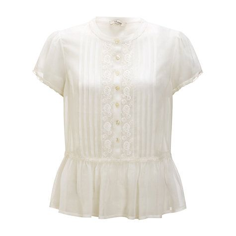 Somerset By Alice Temperley Cream Lace Blouse 57