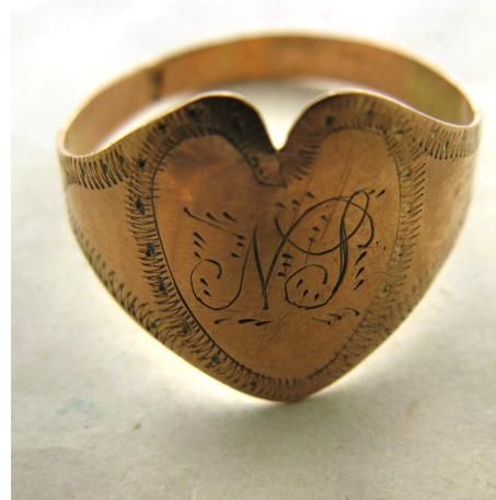 Georgian Wedding Ring.