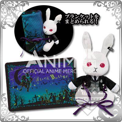 "Black Butler - ""Ichiban Kuji - The Butler in Disguise"" Bitter Rabbit Blanket + Plush Set (Last One)"
