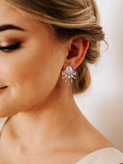 Leather stud earrings,boho earrings,fashion stud earrings,